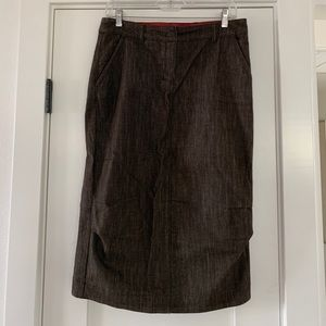 Max Mara denim pencil skirt